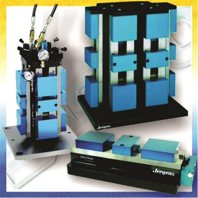 CNC Machine Vises & Tooling Columns