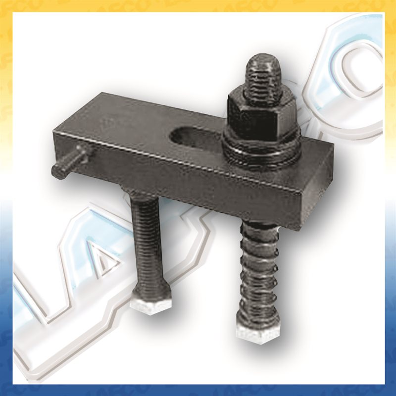 Radius End Flange Nut Clamp Assemblies