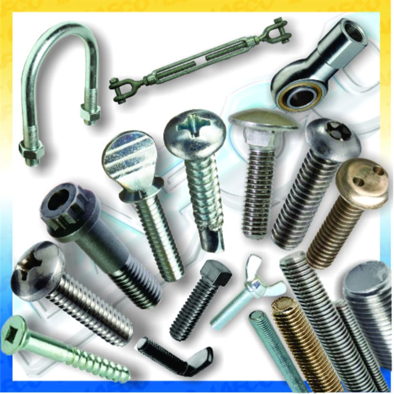Screws and External Threaded Fasteners